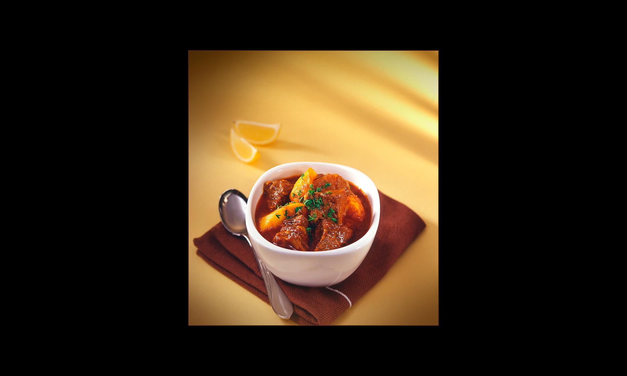 Curry beaf