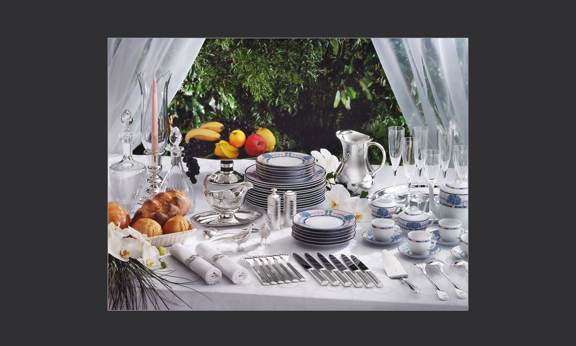 Table of utensils