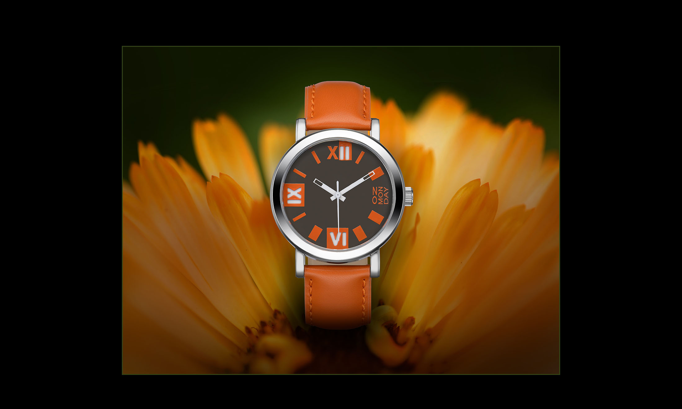 watch in orange